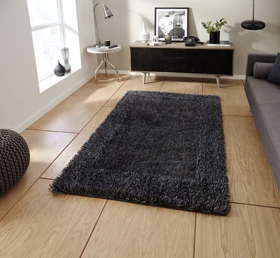 Sable Charcoal 90x150 £59, 120x170 £89, 150x230 £159