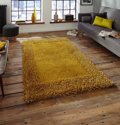 Sable Yellow 90x150 £59, 120x170 £89, 150x230 £159