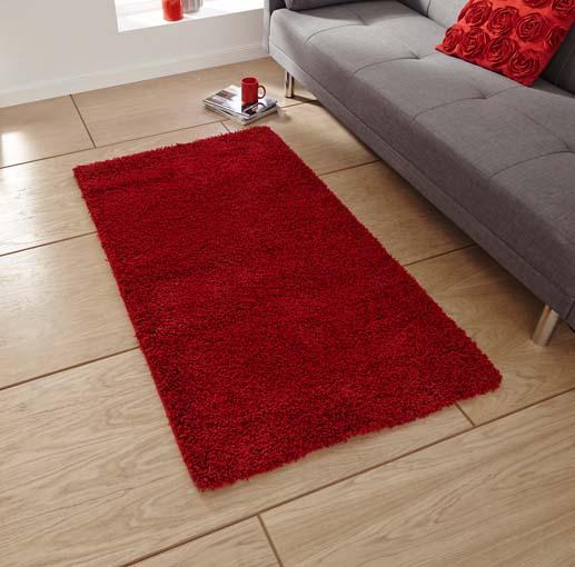 Loft Red 120x170 £69, 160x230 £169