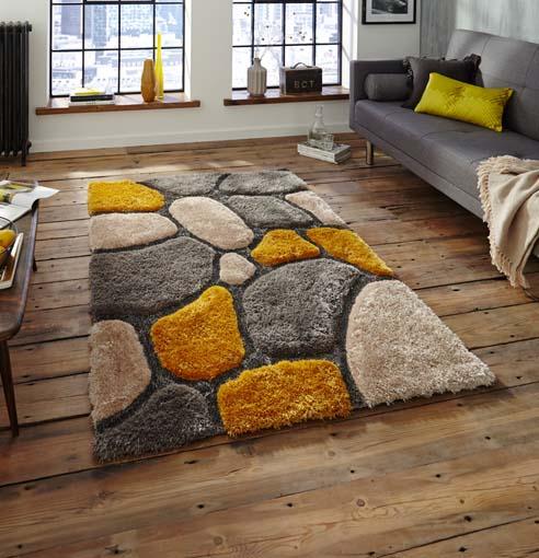 Noble House Grey/Yellow 120x170 £119, 150x230 £189