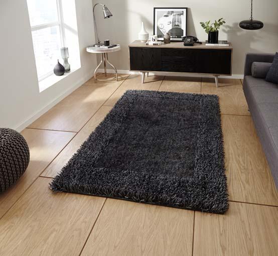 Sable Charcoal 90x150 £59, 120x170 £89, 150x230 £159