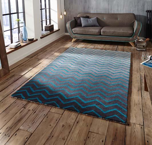 Spectrum Grey/Blue 120x170 £199, 150x230 £299