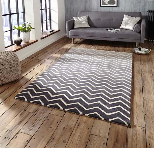 Spectrum Grey/White 120x170 £199, 150x230 £299